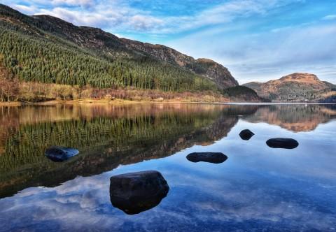 Stirling, Scotland's Lochs, The Trossachs.