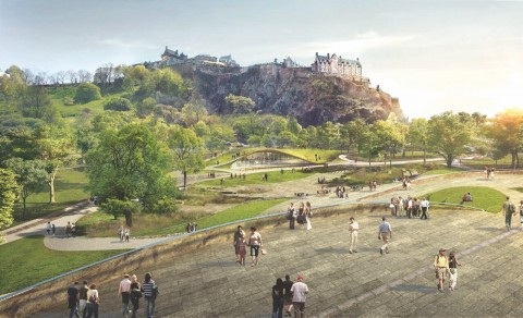 Princes Street Gardens: A Drama in Time