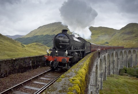 Glenfinnan, Mallaig & the Jacobite Steam Train