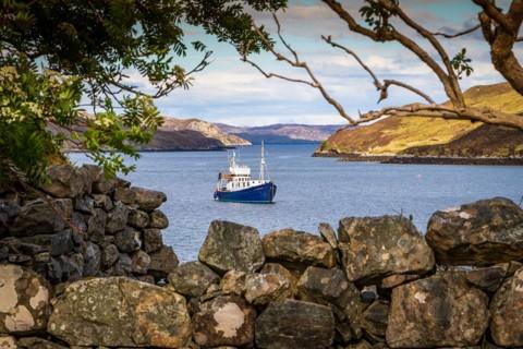 Artist-friendly Hebridean Painting & Wildlife Cruise