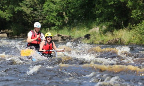 Guided Canoe Descent of the River Spey