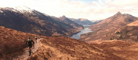 Torridon Mountain Bike Guide - Guided Torridon MTB trip...