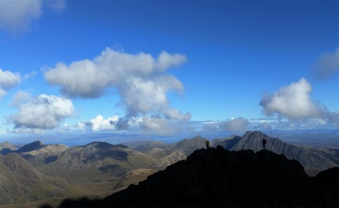 Guiding on the Skye Munros