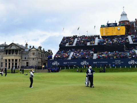 Golf Cruise Packages to The Open at St Andrews in 2022