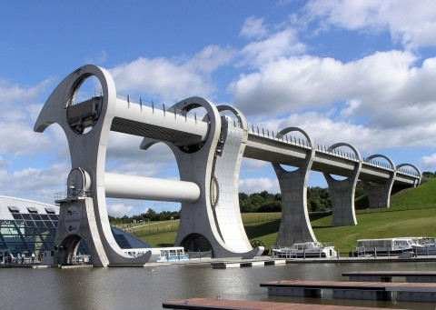 Falkirk Wheel & The Kelpies