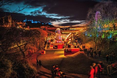 Scottish Christmas Markets, Steam and Sail