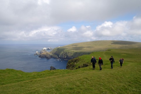 Shetland Islands walking tour