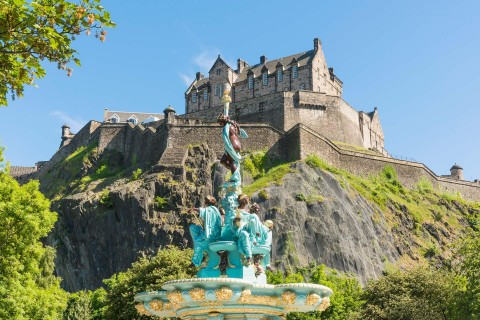 Edinburgh City Tour Half Day Luxury Mercedes Minivan (c...