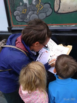 Jeu de piste magique pour enfants sur Edimbourg (digita...