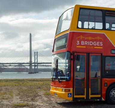 3 Bridges Bus and Boat Tour