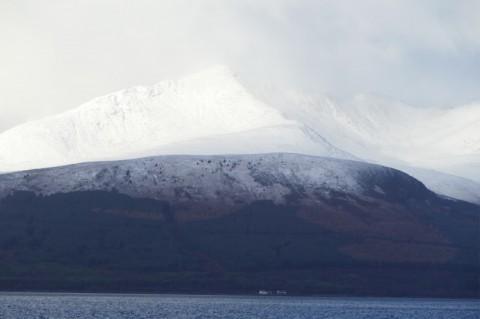 L'Île d'Arran en hiver