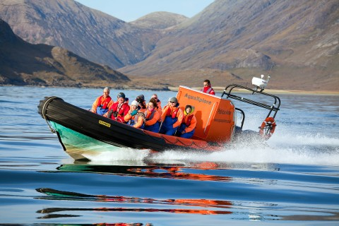 Isle of Soay, Cuillin Mountains and Seals (1.5hr)  [Tri...