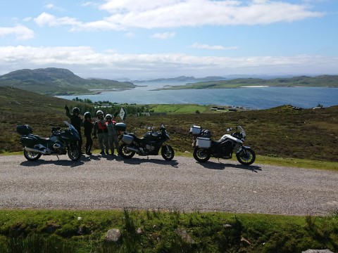 Flexible Scottish Motorcycle Tour