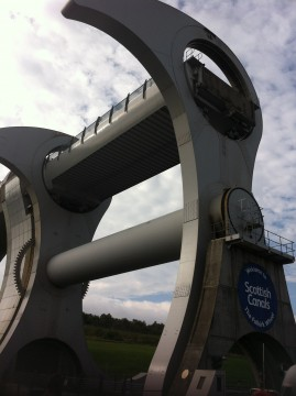 The Kelpies and Falkirk Wheel