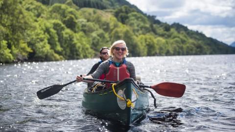 Canoe Taster Tour - Loch Ness