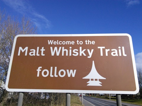 Tour to malt whisky distilleries