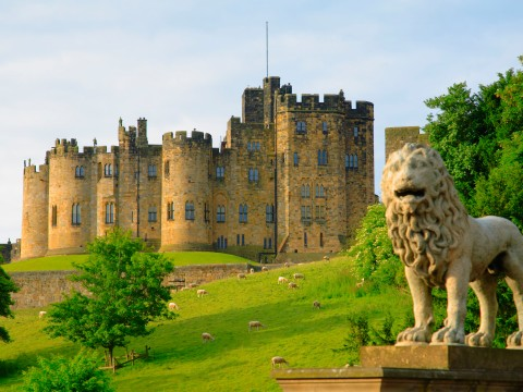 The Viking Coast and Alnwick Castle