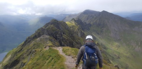 Guided traverse of the Aonach Eagach, Glencoe | Aonach...