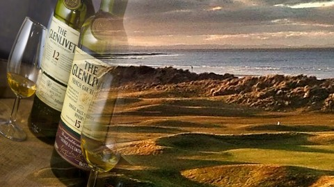 Golf with Whisky