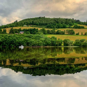 A Woodland Walk and a Dram by Loch Ness