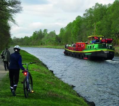 Bike and Barge