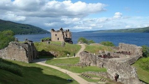 Lochness and Urquhart Castle