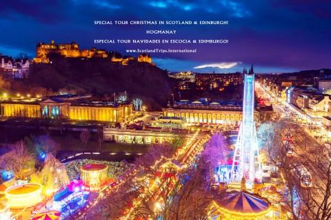 TOUR CHRISTMAS IN SCOTLAND & EDINBURGH: HOGMANAY! 5 Day...