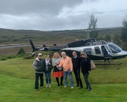 Scenic Helicopter Tour of Scotland