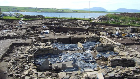 Ness of Brodgar excavations and environs