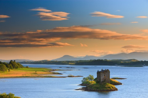 Scottish Castles and Sheltered Sea Lochs Cruise