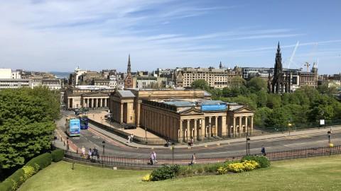 Edinburgh's New Town Private Walking Tour
