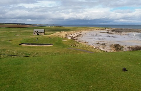 2021 May Golf at Dumbarnie Links and Crail Balcomie
