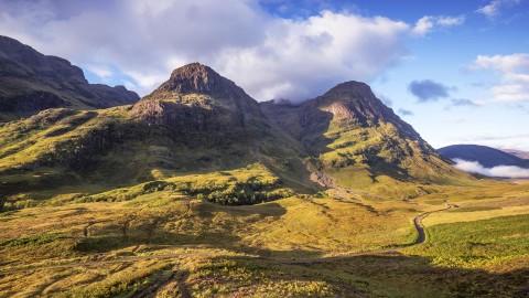 Castles, Gardens, Skye & Glencoe Guided Rail Tour