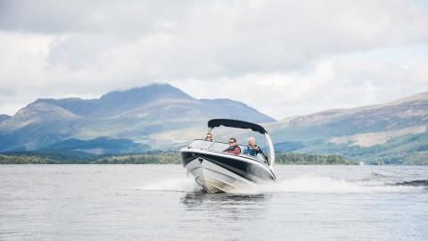 Loch Lomond Speedboat Tour