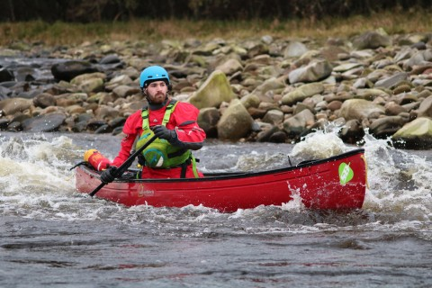 River Spey Canoe Descent