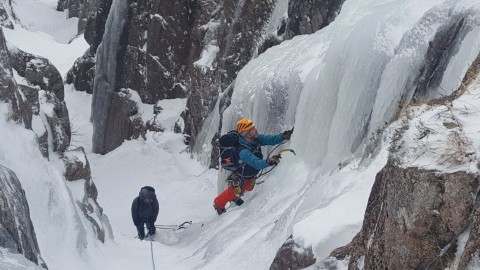 Guided Winter Climbing Scotland | Ben Nevis, Glencoe