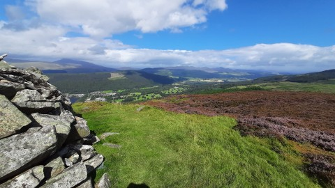Kenmore Hill and the Falls of Acharn