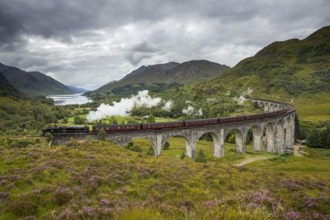 The Big Four Tour: Glenfinnan, Glencoe, Loch Ness & Ben...