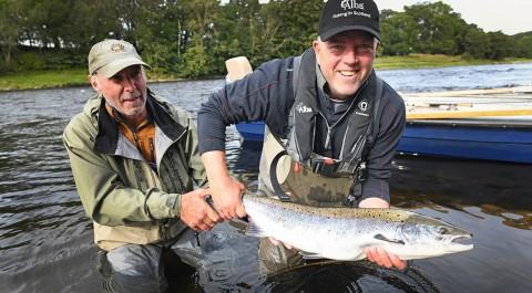 Salmon Fishing Near Edinburgh and Glasgow