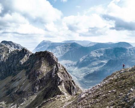 Anoach Eagach Ridge Hike Scramble