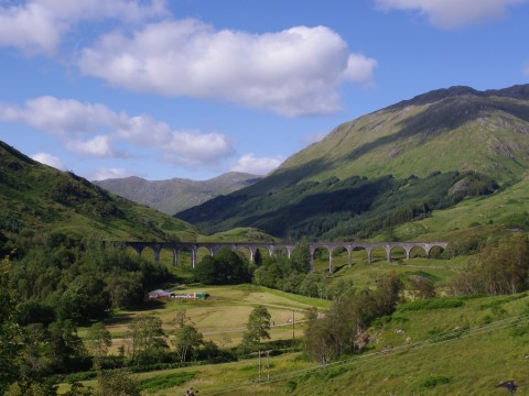 Highland Glens Tour inc. Glenfinnan Viaduct
