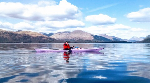 1/2 Day Guided Kayak Tour on Loch Lomond