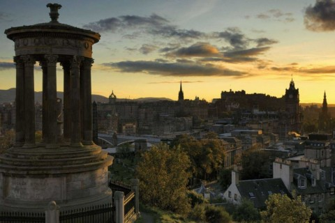 Le cours d'anglais d'Édimbourg et Glasgow