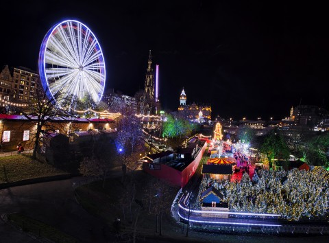 Scottish Christmas Markets, Steam and Sail