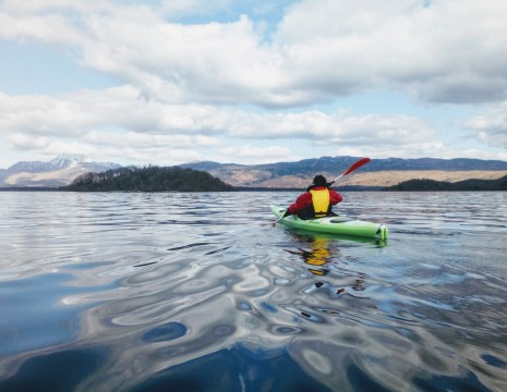 1 Day Guided Kayak Tour On Loch Lomond