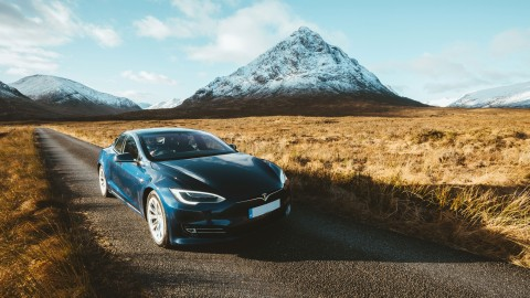 Tour Scotland in a Tesla