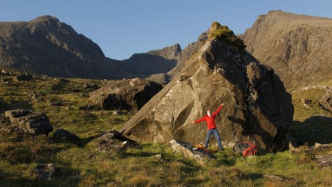 Rock Climbing in the Highlands