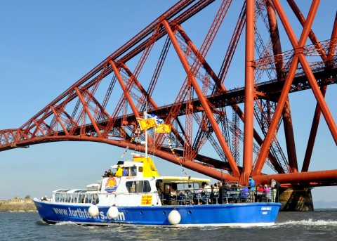 Forth Boat Tours Three Bridges Cruise