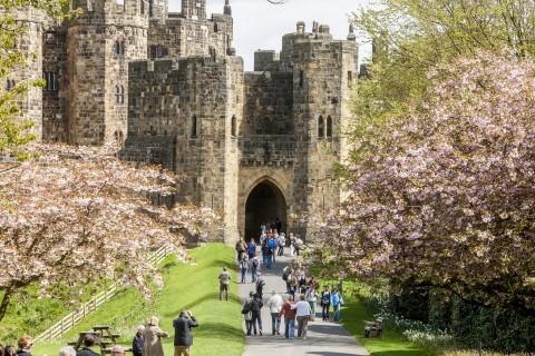 Alnwick Castle & The Borders